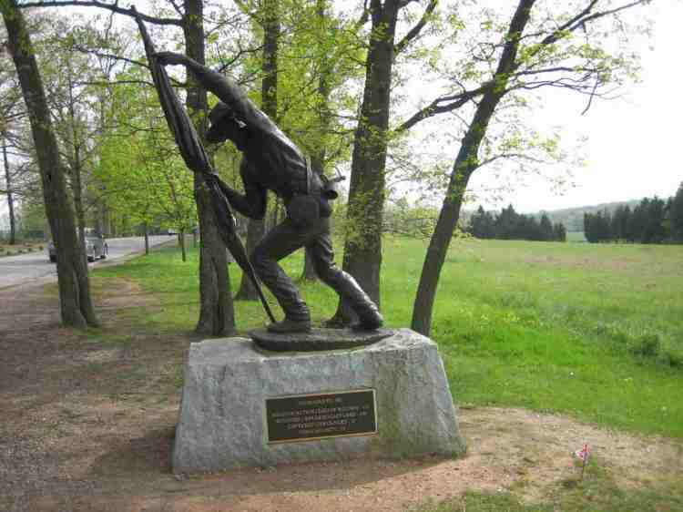 11th monument at gettysburg