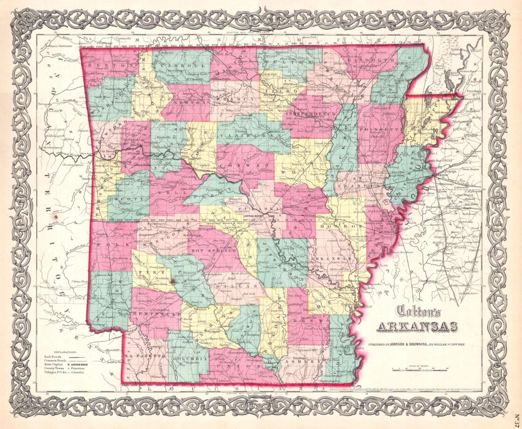 Arkansas 1860