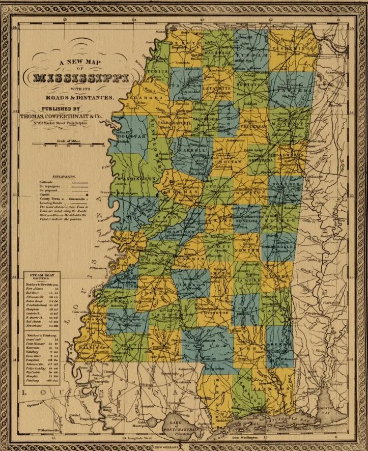 Mississippi 1852