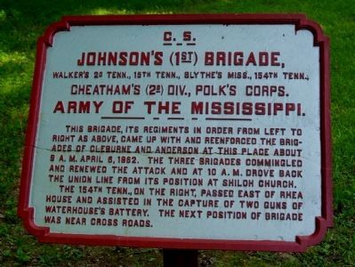 blythe plaque at shiloh