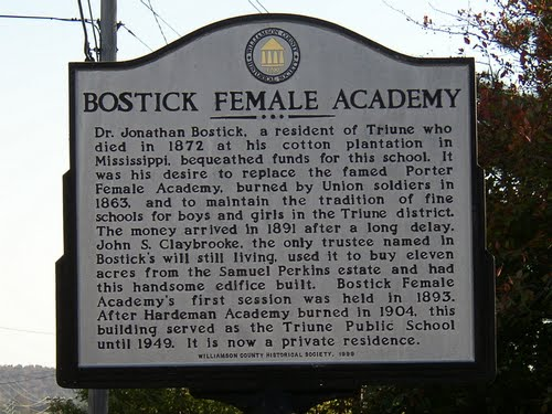 bostick female academy