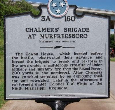 chalmers brigade plaque