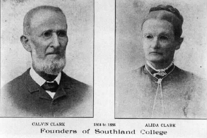calvin and alida clark